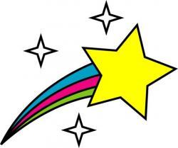 Falling Stars clipart bright star