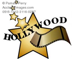Celebrity clipart film star