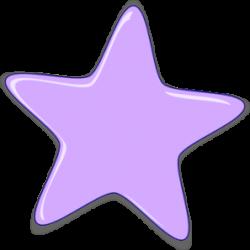 Lilac clipart star