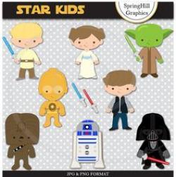 Star Wars clipart baby shower