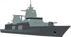 Navy clipart battleship