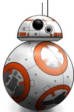 Star Wars clipart bb8
