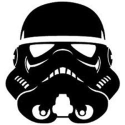 Stormtrooper clipart silhouette