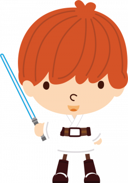 Luke Skywalker clipart baby