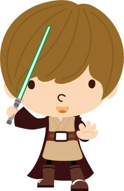Luke Skywalker clipart animated