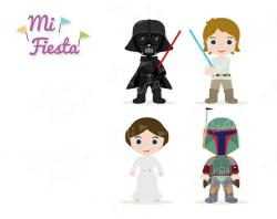 Darth Vader clipart luke skywalker