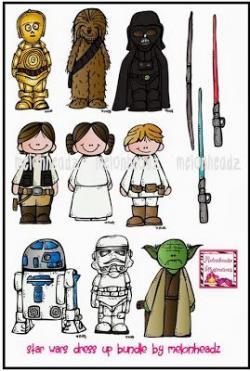 Star Wars clipart melonheadz