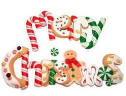 Gingerbread clipart merry christmas