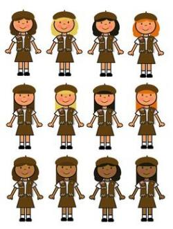 Brownie clipart scout