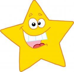 Mario clipart smiling star