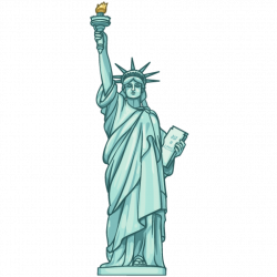 Monument clipart torch