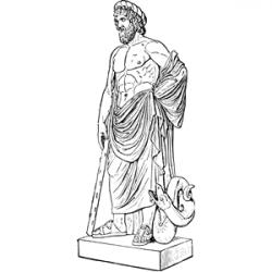 Statue clipart greek sculpture