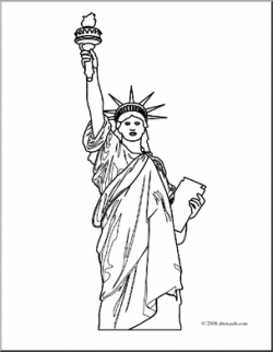 Statue Of Liberty clipart arm