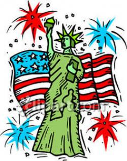 Statue Of Liberty clipart mexican independence day