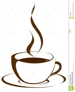 Smoking clipart coffee