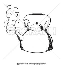 Kettle clipart water steam