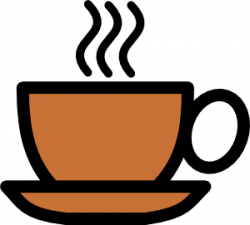 Cafeteria clipart cup coffee