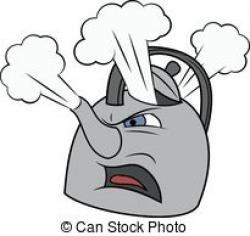 Kettle clipart kettle steam