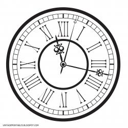 Watch clipart antique