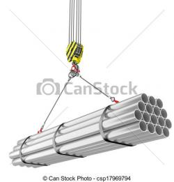 Steel clipart crane hook