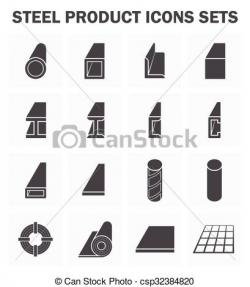 Steel clipart icon