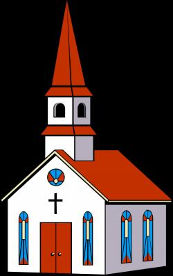 Steeple clipart catholic school