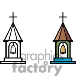 Steeple clipart church bell