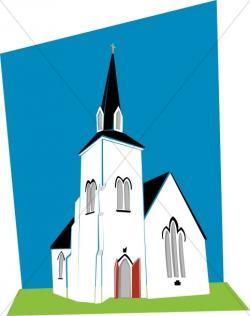 Steeple clipart church construction