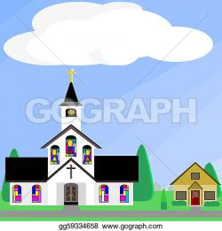 Steeple clipart church window