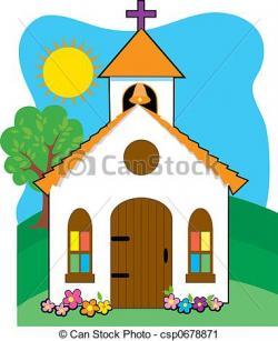 Chapel clipart small church