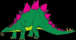 Dinosaur clipart stegosaurus