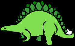 Stegosaurus clipart cartoon