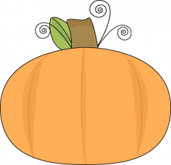 Squash clipart little pumpkin