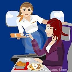 Steward clipart airline passenger
