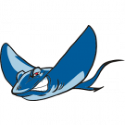 Stingray clipart mean