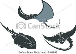 Sharkwhale clipart stingray