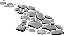 Pebble clipart road