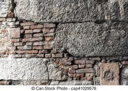 Stone Wall clipart brick foundation