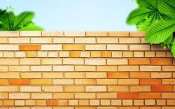 Stone Wall clipart brick house