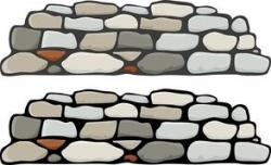Stone Wall clipart stone path