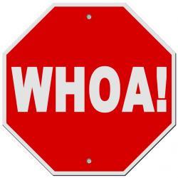 Stop clipart danger sign