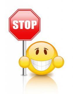 Stop clipart emoji