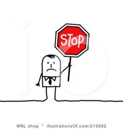 Stop clipart halt