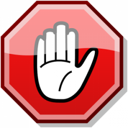 Stop clipart none