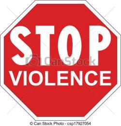 Violence clipart stop violence