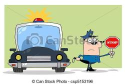 Stop clipart trafic