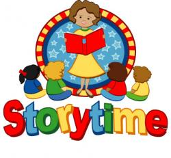 Library clipart storytime