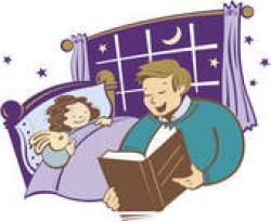 Stories clipart bed time