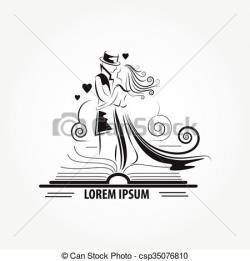 Stories clipart love book
