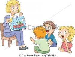 Stories clipart preschool center time